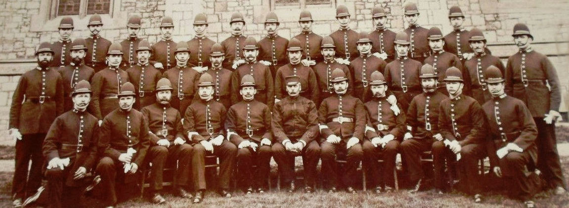 Weston-super-Mare Police Officers 1890